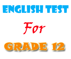 Free English Tests And Exercises For Grade 12